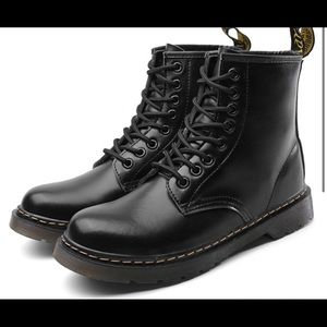 Dr Marten look-a-like combat boots size 10